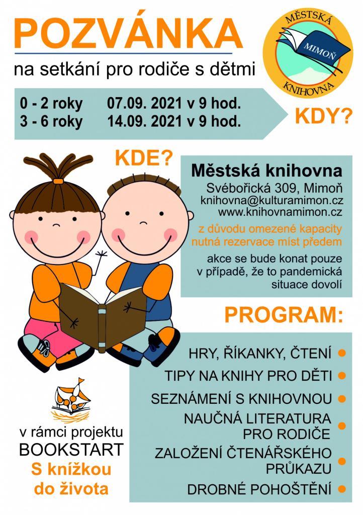 Bookstart - setkání rodičů s dětmi v knihovně 1